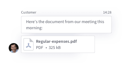 Simplify document collection