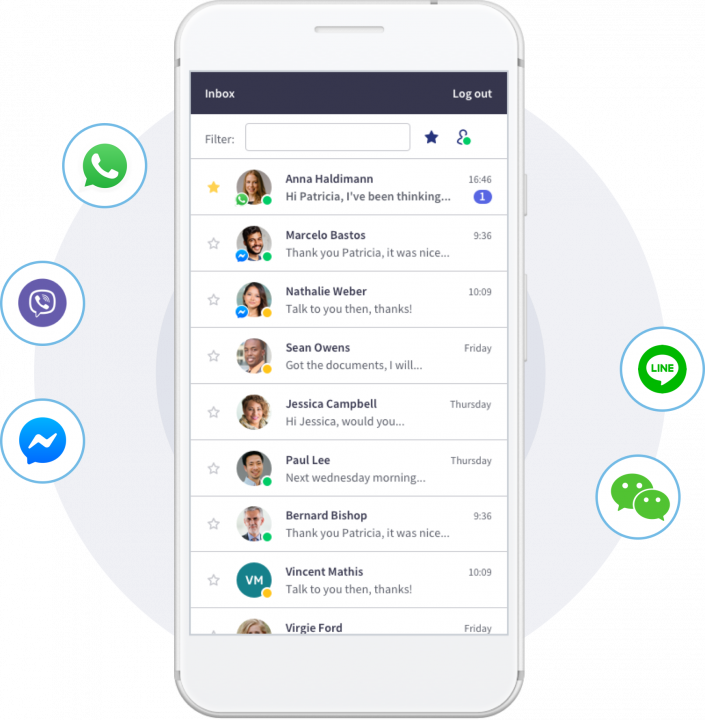 Integrate Unblu into the most popular messaging platforms