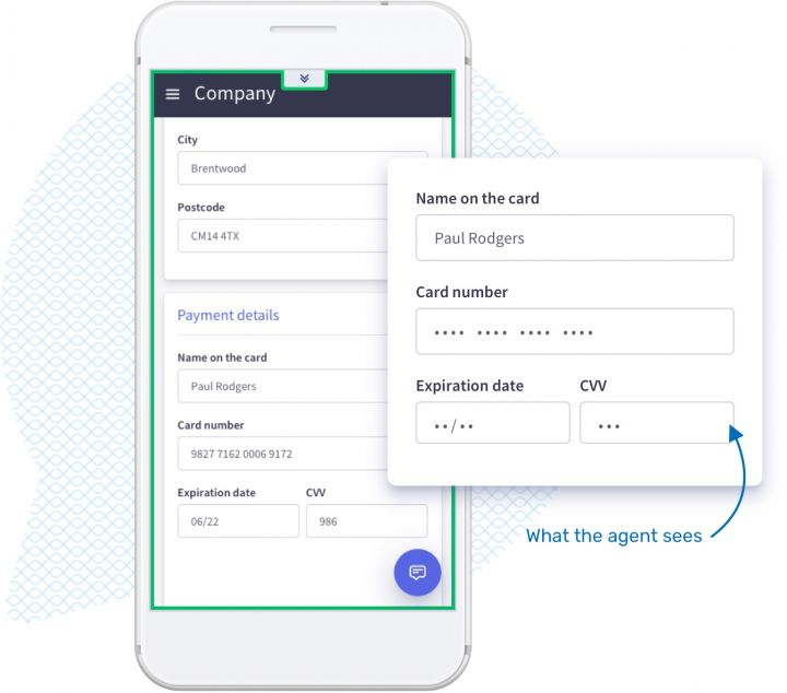 Do you want to exclude data from the co-browsing? With Unblu you can.