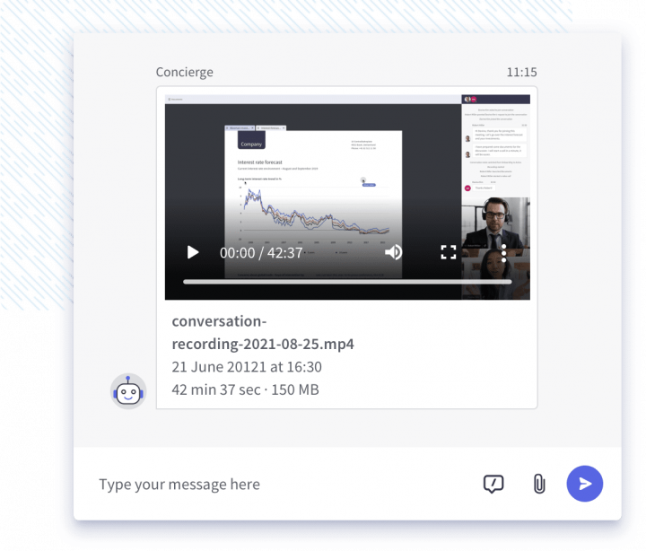 Record your collaboration sessions