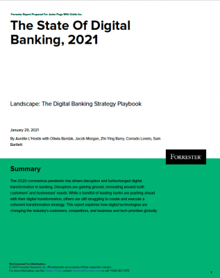 The State of Digital Banking 2021: how to prepare for the future of banking