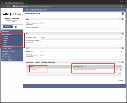 Airlock 5 3 Web Application Firewall (WAF) Integration